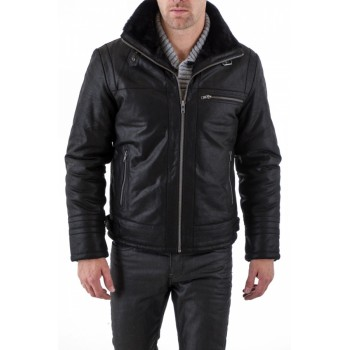 Sp Black Fashion Jacket
