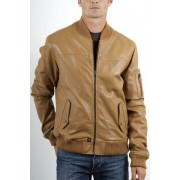 Speejak Bomber Leather Jacket
