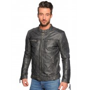 Sp Mens Effect Leather Jacket